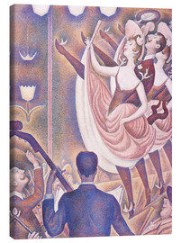 Canvas print  The Chahut - Georges Seurat