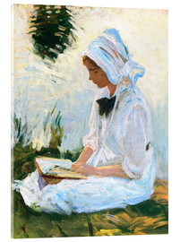 John Singer Sargent - Girl reading by a stream