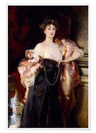 Premium poster Lady Helen Vincent, Viscountess of d'Abernon