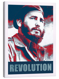 Canvas print  Fidel Castro revolution in Cuba - Alex Saberi