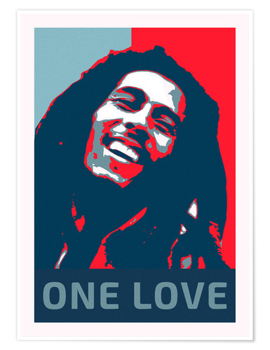 Premium poster Bob Marley One Love