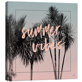 Canvas print  summervibes - m.belle