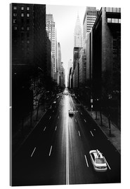 Acrylic glass  Streets of New York (42nd street - Tudor City) - Sascha Kilmer