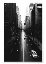 Premium poster Streets of New York, 42nd Street