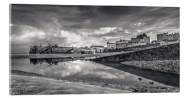 Acrylic glass  Tenby Harbour Reflections - Simon West