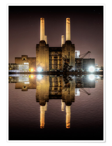 Premium poster Battersea Power Station