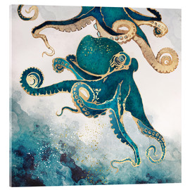 Acrylic print  Octopus, underwater dream V - SpaceFrog Designs