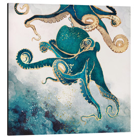 Aluminium print  Octopus, underwater dream V - SpaceFrog Designs