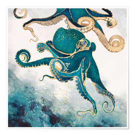 SpaceFrog Designs - Octopus, underwater dream V