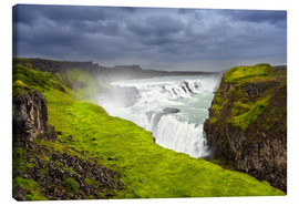 Canvas print  Gullfoss - Dave Derbis