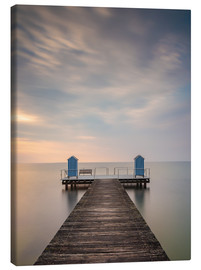 Canvas print  Jetty on the Baltic Sea (1) - Heiko Mundel