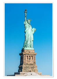 Premium poster  Statue of Liberty on Liberty Island, New York City, USA - Jan Christopher Becke