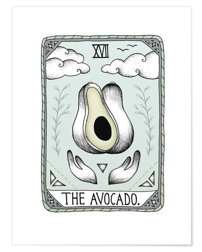 Premium poster The Avocado