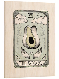Wood print  The Avocado  - Barlena