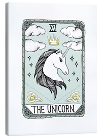 Canvas print  The Unicorn - Barlena