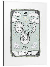 Aluminium print  The Match - Barlena