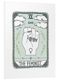 Foam board print  The Feminist  - Barlena
