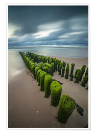 Heiko Mundel - mystical groyne on Sylt (long exposure)