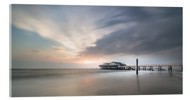 Acrylic print  54Brad beach bar in St.Peter-Ording - Heiko Mundel
