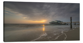 Canvas print  54Brad beach bar in St.Peter-Ording - Heiko Mundel