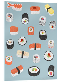 Acrylic glass  Sushi Roll Maki Nagiri - Nic Squirrell