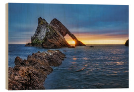 Wood  GB Sunrise at Bow fiddle Rock  MG 0873 HDR Bearbeitet Luminar2018 edit Bearbeitet  - Reemt Peters-Hein