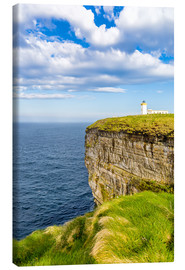 Canvas print  Duncansby Head Lighthouse at John o Groats - Reemt Peters-Hein