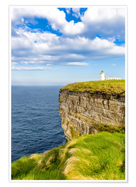 Premium poster Duncansby Head Lighthouse at John o Groats