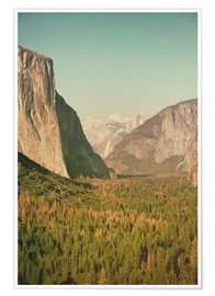 Premium poster Yosemite Valley XI
