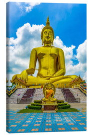 Canvas print  Big Buddha at Wat Muang, Thailand - HADYPHOTO