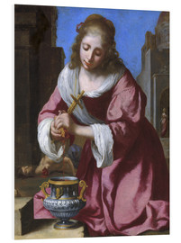 Foam board print  Saint Praxedis - Jan Vermeer
