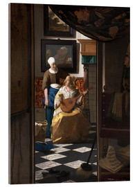 Jan Vermeer - the love letter