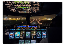 Ulrich Beinert - A380 Cockpit on the Runway
