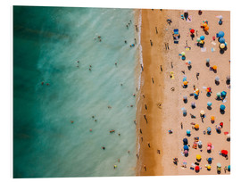 Forex  Aerial view of people at the beach in Portugal - Radu Bercan