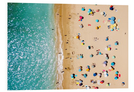 Radu Bercan - Aerial View Of People In Summer Holiday
