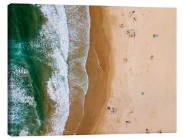 Canvas  At the beach of the Algarve - Radu Bercan