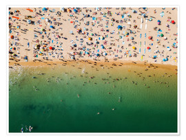 Radu Bercan - Overcrowded sandy beach of Algarve