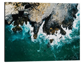 Alu-Dibond  The sea on the Algarve coast - Radu Bercan