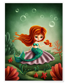 Premium poster Little mermaid