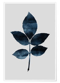Premium poster Watercolor Leaves 6