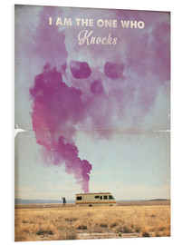 Foam board print  Breaking Bad retro poster - 2ToastDesign