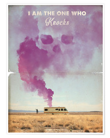 Premium poster  Breaking Bad retro poster - 2ToastDesign