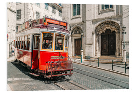 Forex  Red Tram Travelling In Lisbon City - Radu Bercan