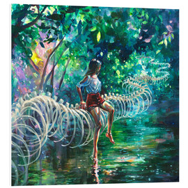 Foam board print  Dopamine Jungle - Tanya Shatseva