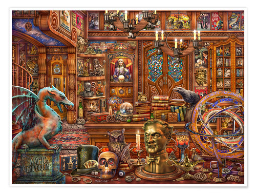 Premium poster Mr. Curio's Magic Emporium II