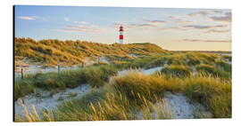 Aluminium print  Lighthouse in Sylt - Rainer Mirau
