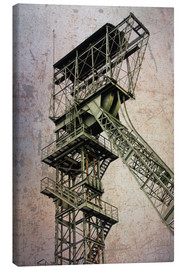 Canvas  winding tower - Dieter Ziegenfeuter