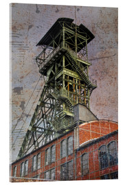 Acrylic glass  winding tower - Dieter Ziegenfeuter