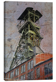 Canvas print  winding tower - Dieter Ziegenfeuter