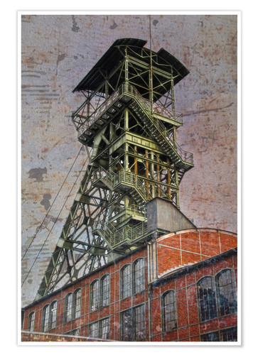 Premium poster winding tower